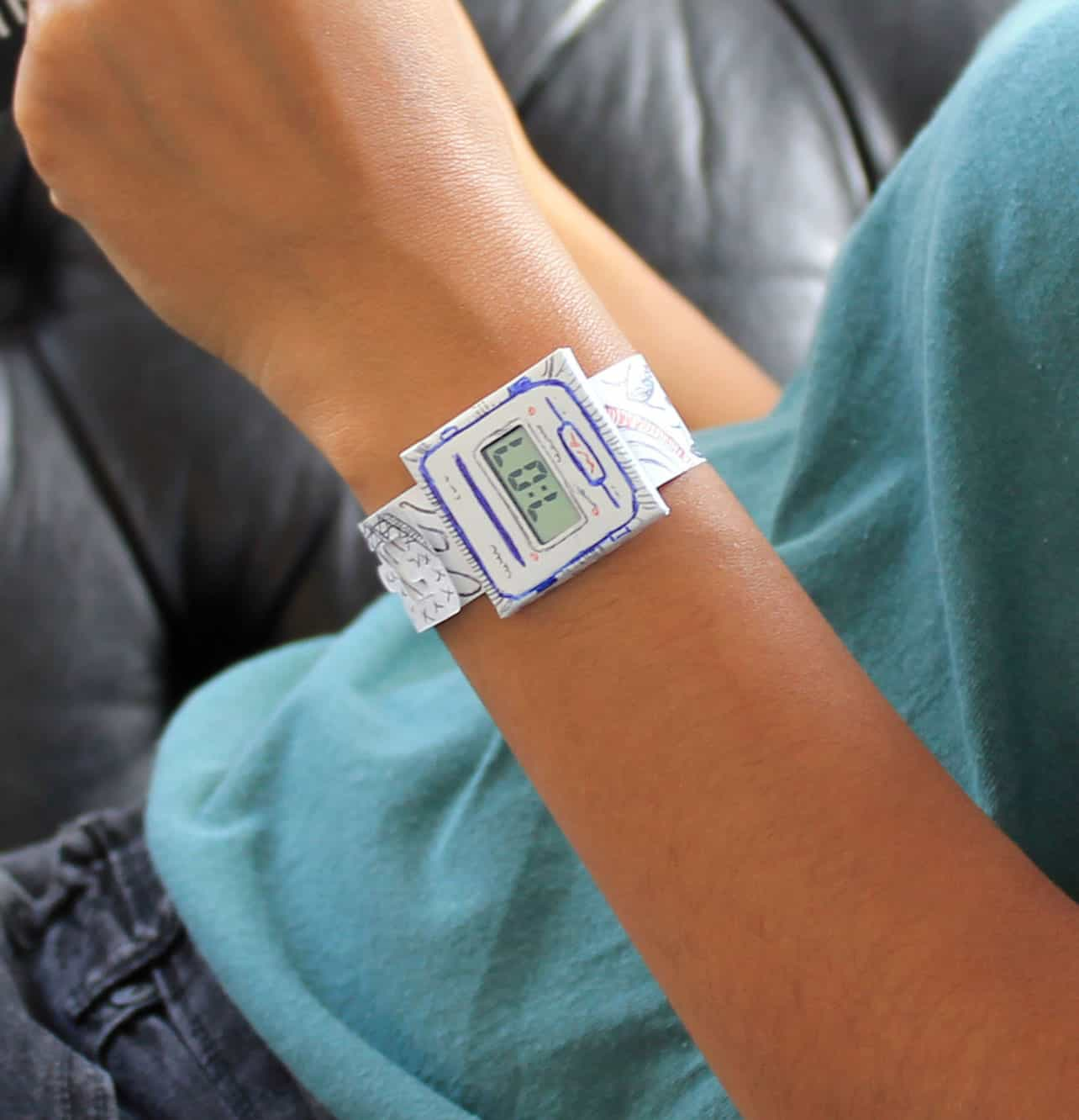 Suck UK Paper Watch Cool DIY Gift Idea