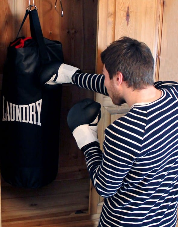Suck UK Punch Bag Laundry Bag Cool Gift  to Buy Him