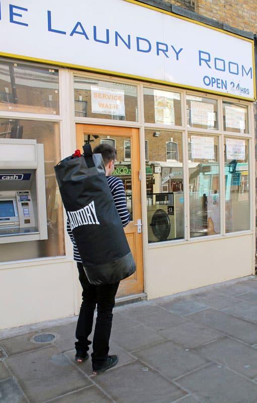 Suck UK Punch Bag Laundry Bag Gift for Boyfriend