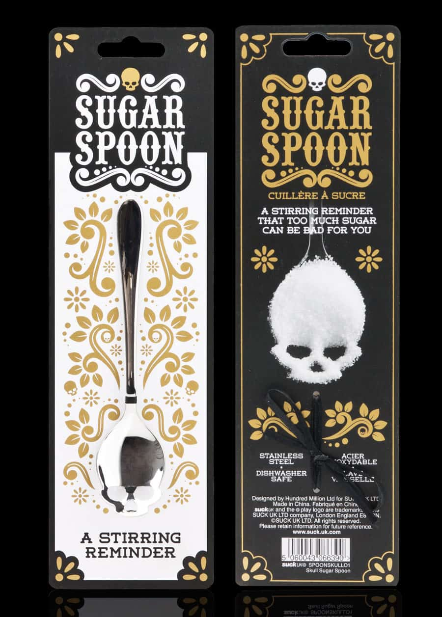 Suck UK Skull Sugar Spoon Cool Stuff to Buy