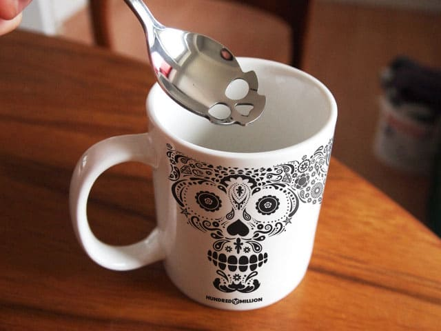 Suck UK Skull Sugar Spoon Cute Gift Idea