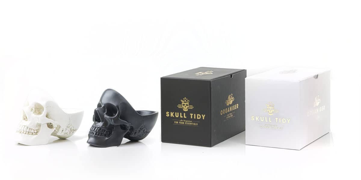 Suck UK Skull Tidy Room Accent