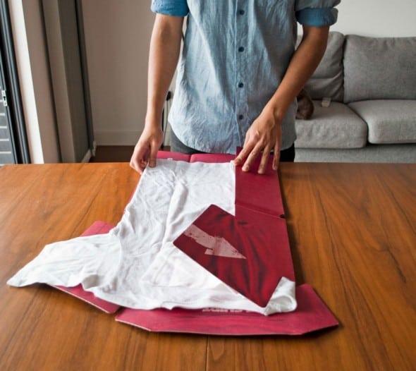 Suck UK T-shirt Folder Cool Gift Idea