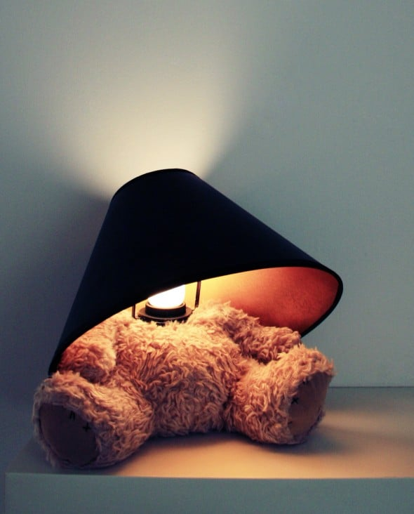 Suck UK Teddy Bear Lamp Cool Stuff to Buy