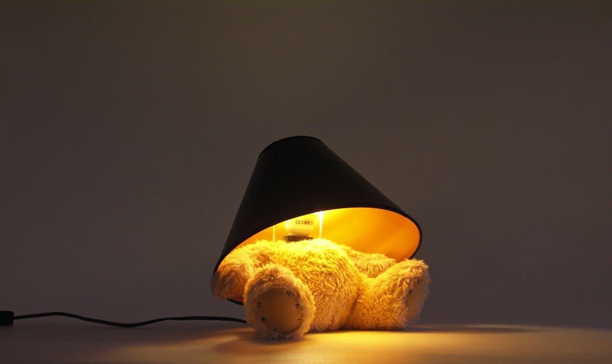 Suck UK Teddy Bear Lamp Memorable Gift Idea to Buy