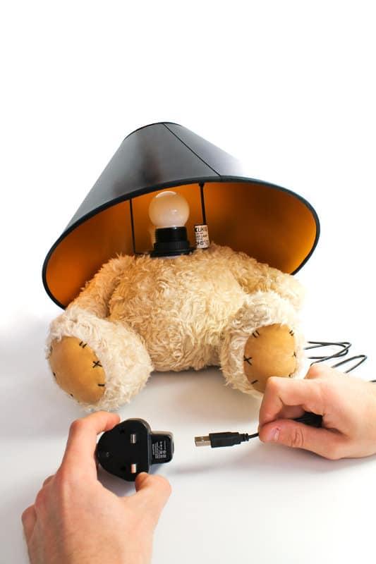 Suck UK Teddy Bear Lamp USB Device