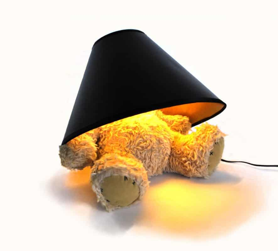 Suck UK Teddy Bear Lamp Unique Gift Idea for Her