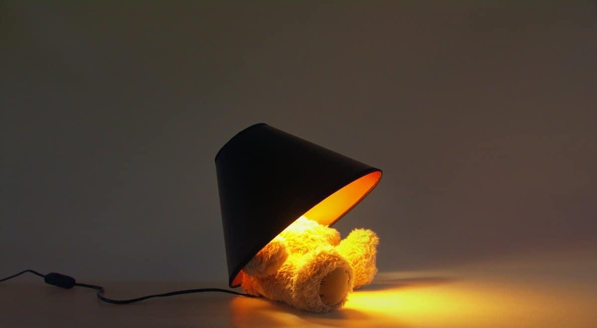 Suck UK Teddy Bear Lamp Weird Stuff to Buy