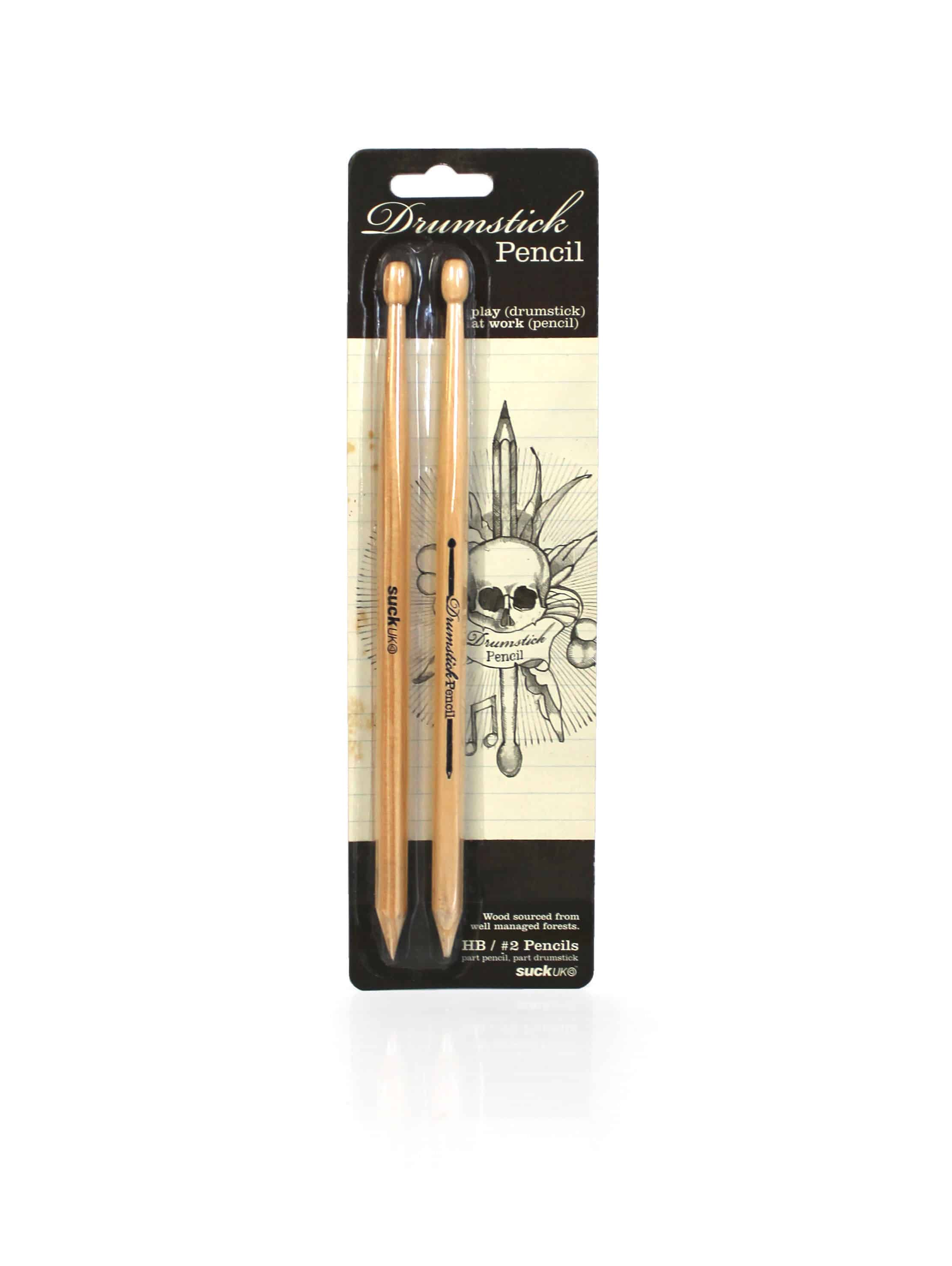 Suck UK Wooden Drumstick Pencil Cool Stuff to Buy