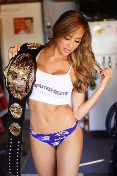 Undisputed Belts Fantasy Football Championship Belt Sexy Chick Ravens Panty