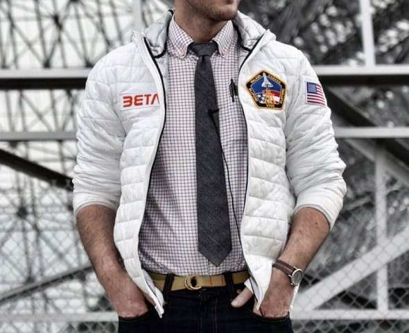 Betabrand Space Jacket Cool Gift to Buy Him