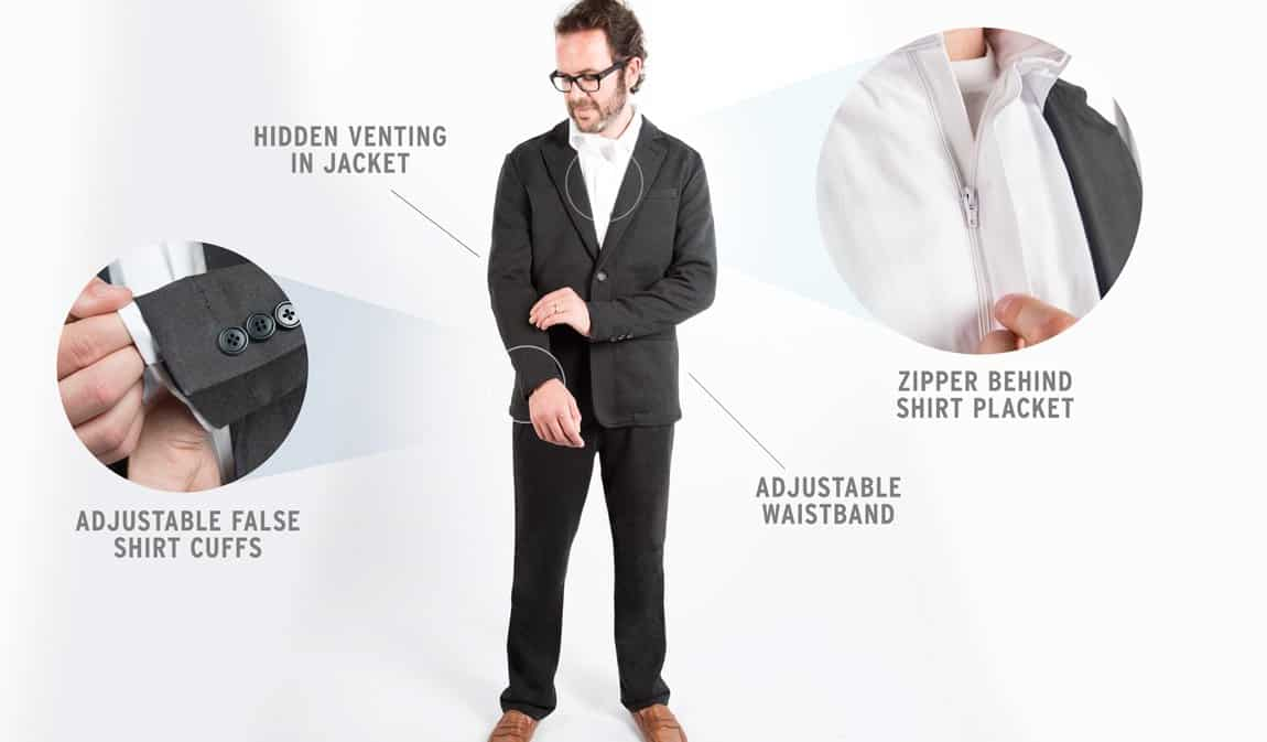 Betabrand The Suitsy  Product Features