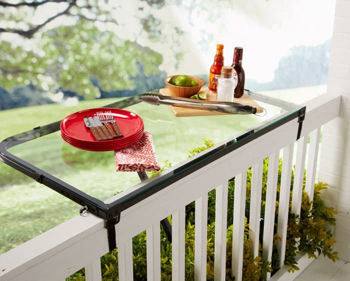 DeckMATE-Rail-Tray-House-Warming-Gift-Idea-Black