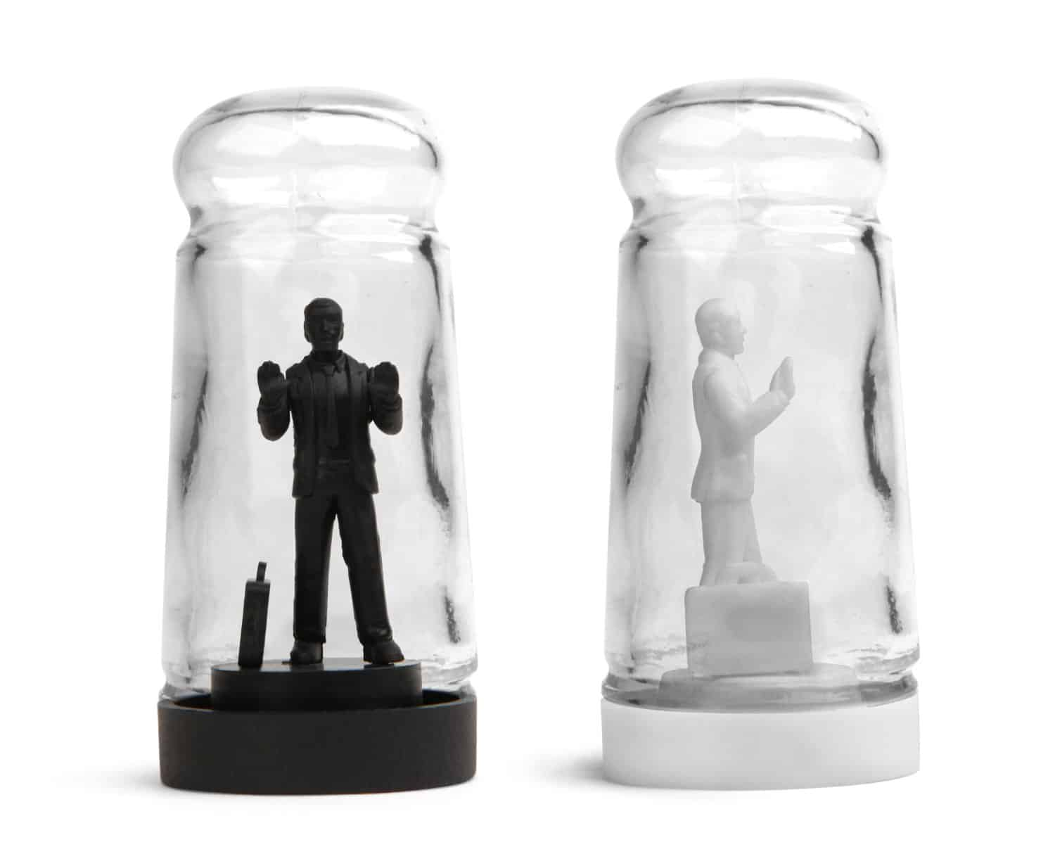 Drowning In Debt Salt And Pepper Shakers by Sebastian Errazuriz Designer Items