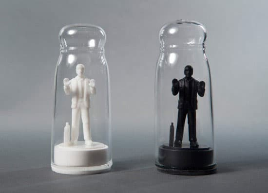 Drowning In Debt Salt And Pepper Shakers by Sebastian Errazuriz Novelty Item to Buy