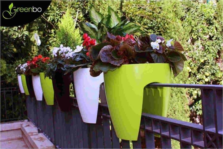 Greenbo Designer Railing Planter Balcony Desing Idea