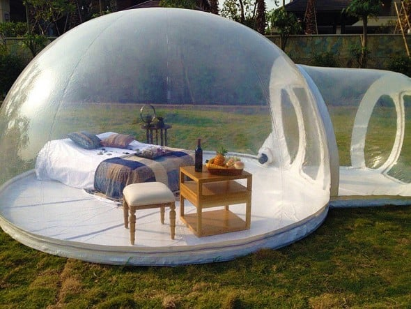 Holleyweb Inflatable Bubble Tent House Dome Cool Stuff to Buy for Summer
