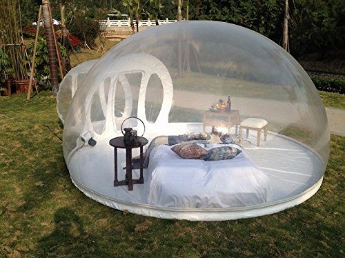 Holleyweb inflatable bubble tent house dome noveltystreet Tent a house