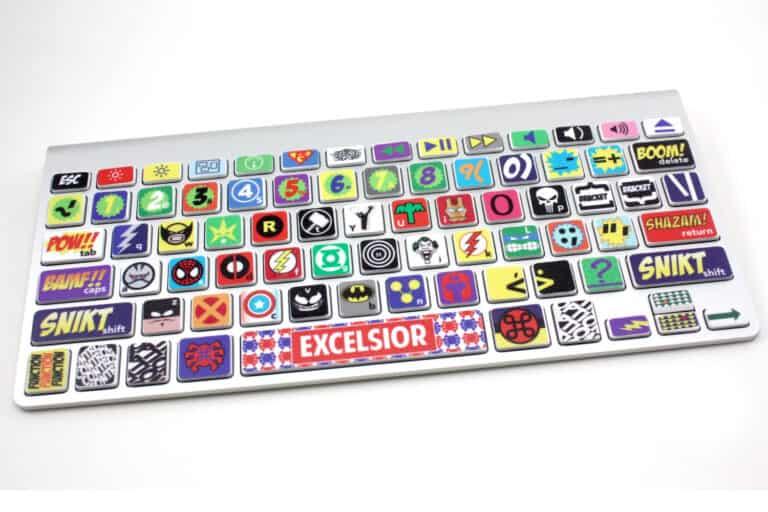 Killer Duck Decals Macbook Keyboard Super Hero Skin Cool Gift to Buy for Kids