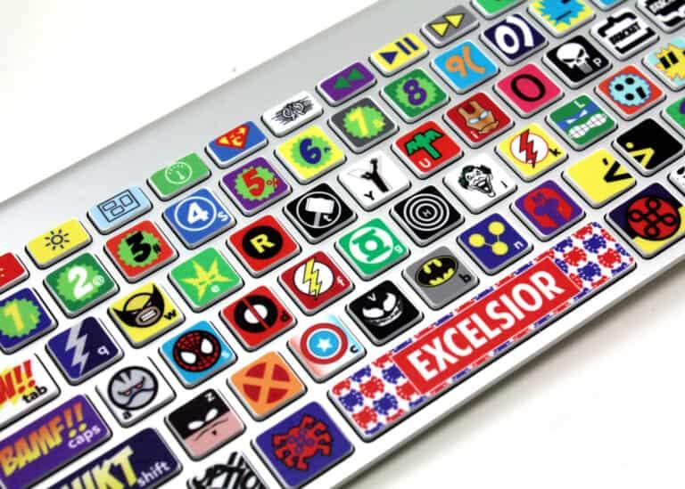 Killer Duck Decals Macbook Keyboard Super Hero Skin Cool Things to Buy for Geeks