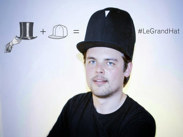 Le Grand Hat Modern Top Hat