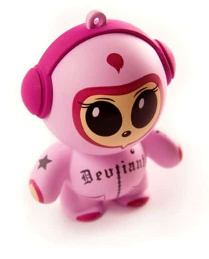 Mobi Headphonies Portable Speakers Cute Novelty Item Art Toy