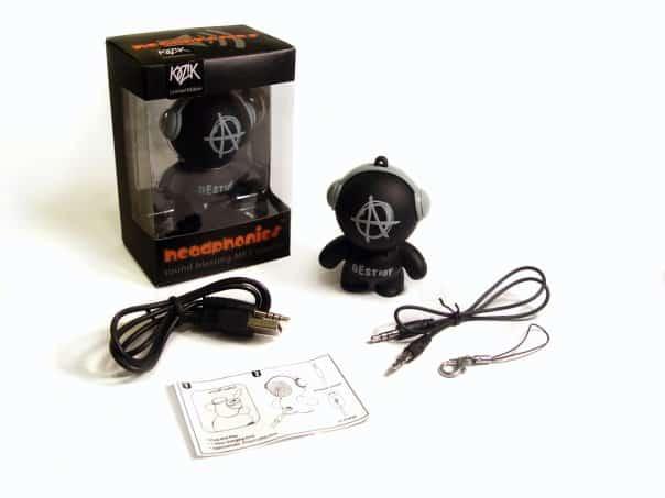 Mobi Headphonies Portable Speakers What is Included