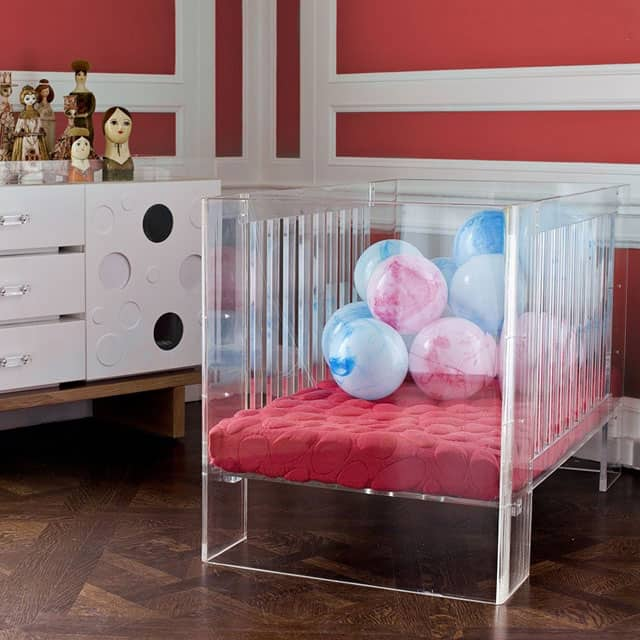As clear as a crib can be.