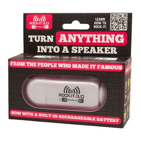 Orig Audio Rock-It 3.0 Vibration Speaker Turn Anything Box