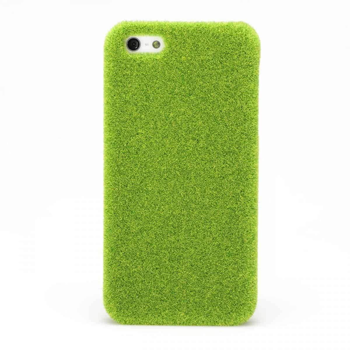 Shibaful Lush Lawn iPhone Cover Weird Novelty Item