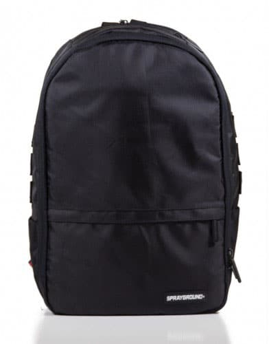 Sprayground $tashed Money Black Backpack Clean Look
