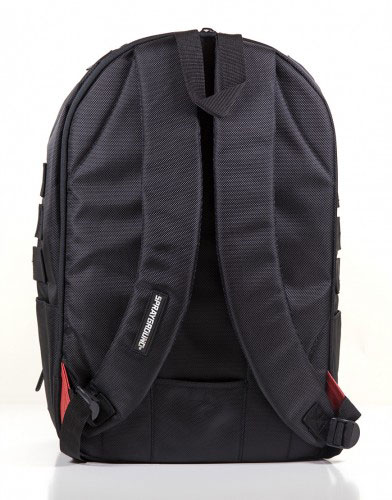 Sprayground $tashed Money Black Backpack Straps