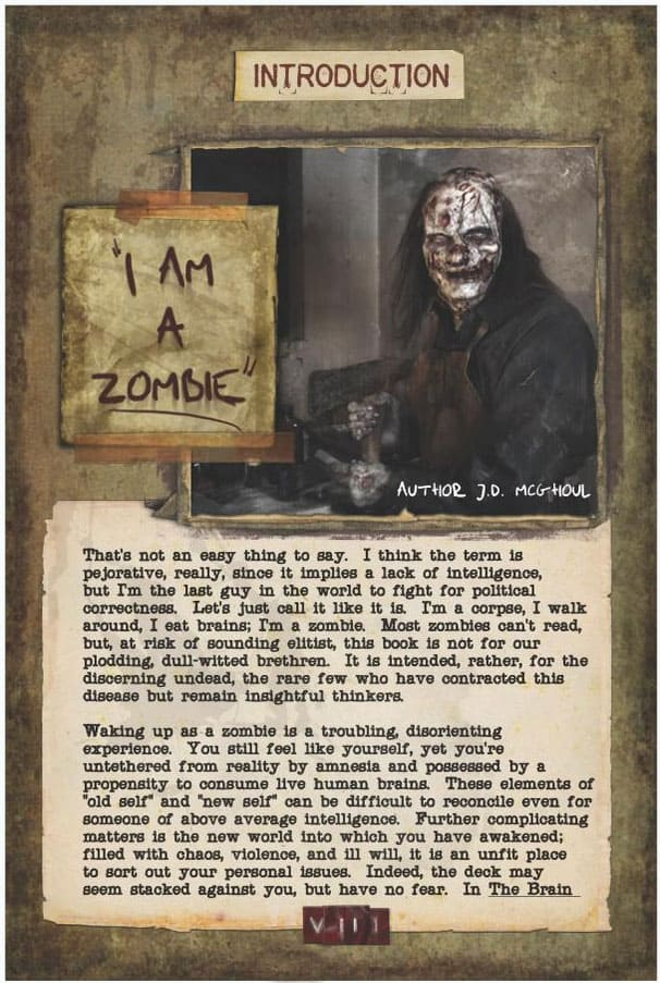 The Brain Eaters Bible Sound Advice for the Newly Reanimated Zombie I am a zombie Page