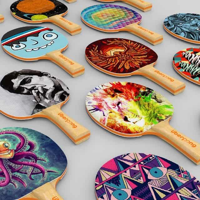 Stylish and customized paddles to suit your ping pong lifestyle.