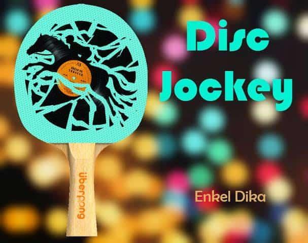 Uberpong Ping Pong Paddles Dream Catcher Design Disc Jockey
