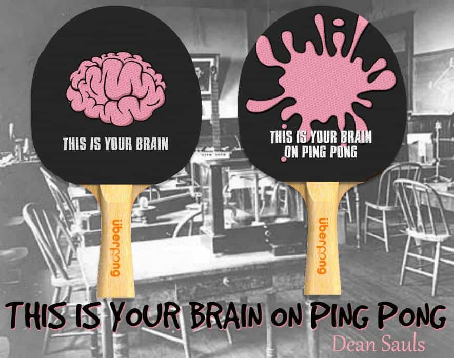 Uberpong Ping Pong Paddles Dream Catcher Design Zombie Theme