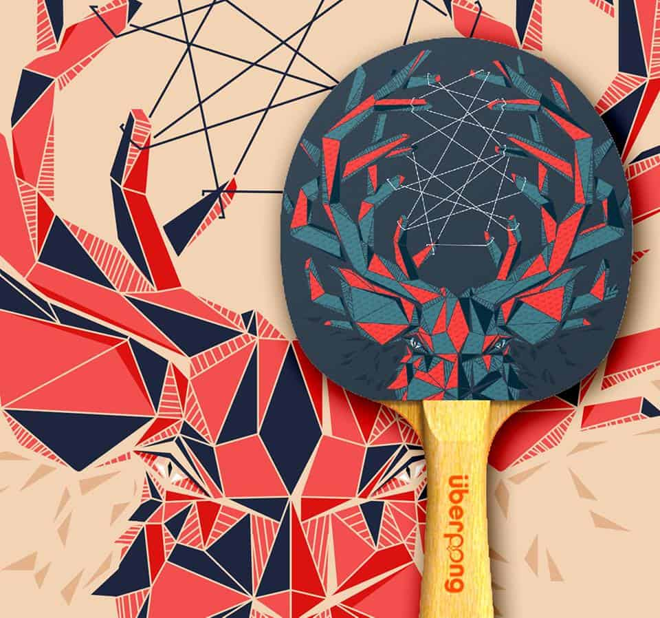 Uberpong Ping Pong Paddles Dream Catcher Design