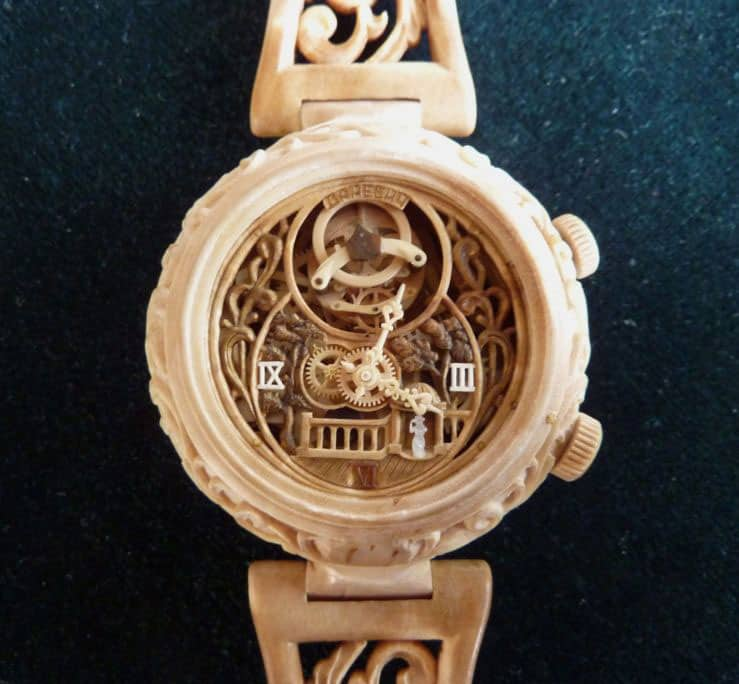 Valerii Danevych Nostalgia Wooden Wrist Watch Incredible Stuff