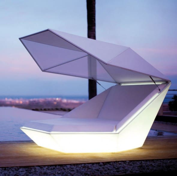 Vondom Faz Illuminated Daybed Cool Furniture to Buy