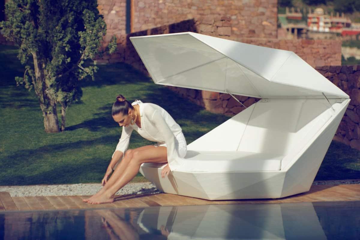 Vondom Faz Illuminated Daybed Designer Furniture to Buy