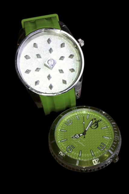 Weed-Star Grinder Watch Hidden Compartment