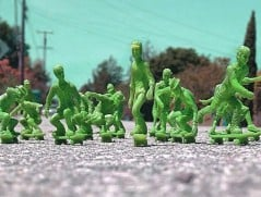 Getting tired of green plastic toy soldiers?