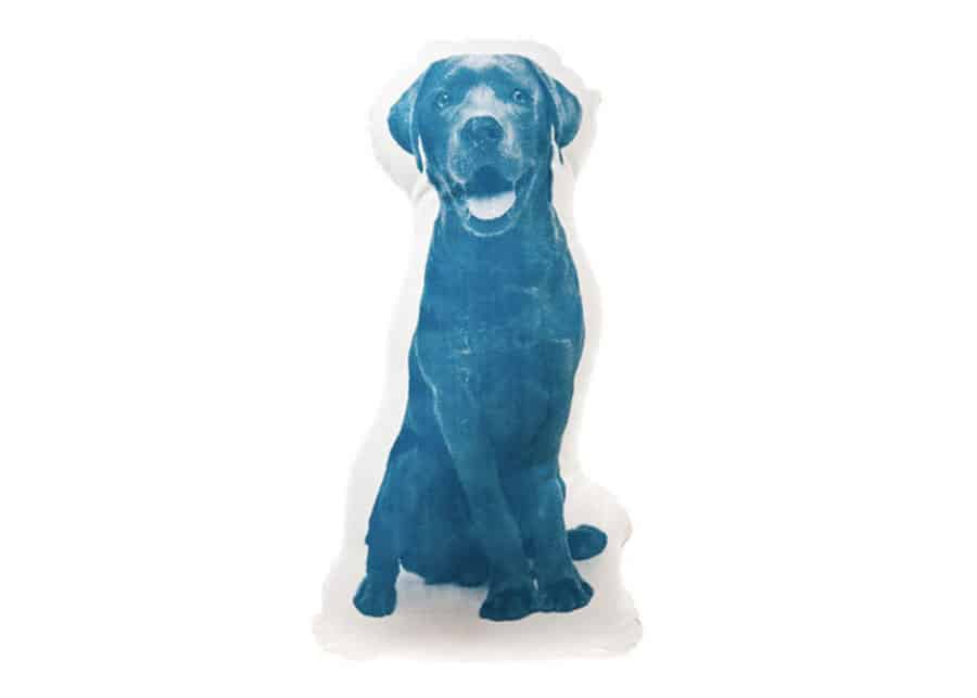 Areaware-Fauna-Cushion-Labrador-Blue-Pillow