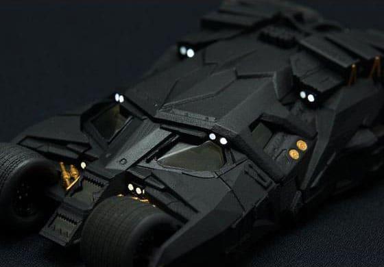 Bandai Crazy Case Batmobile Tumbler Lighting Capability