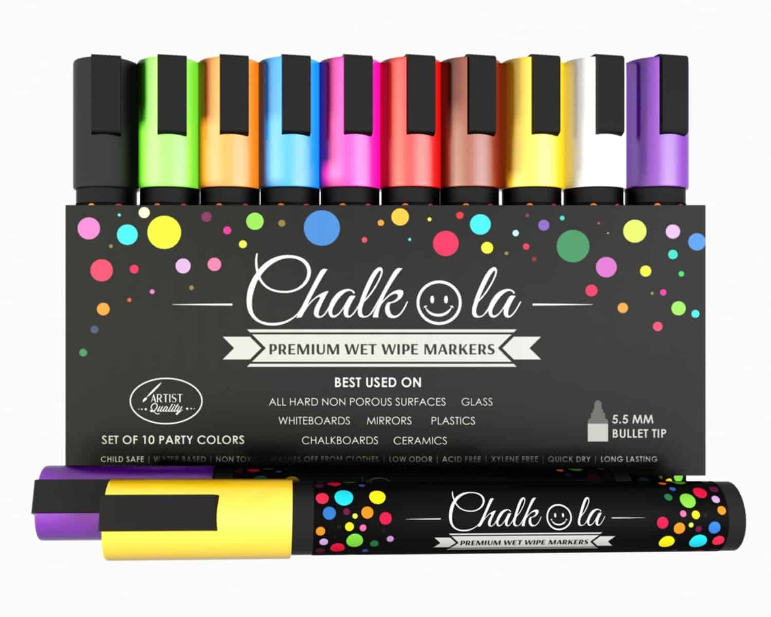Chalkola Premium Chalk Markers Cool Gift Idea for Teachers to Buy