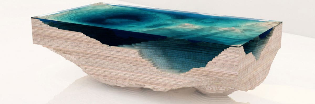 Duffy London The Abyss Table Nature Inspired Furniture