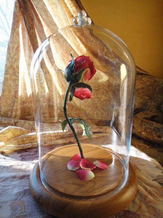 Hands Full of Crafts Beauty and the Beast Inspired Enchanted Rose Fairytale