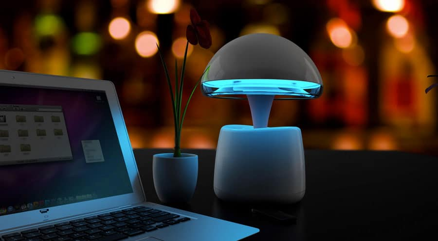 IdeaShow Aladdin Lamp Buy Cool Blue Night Light