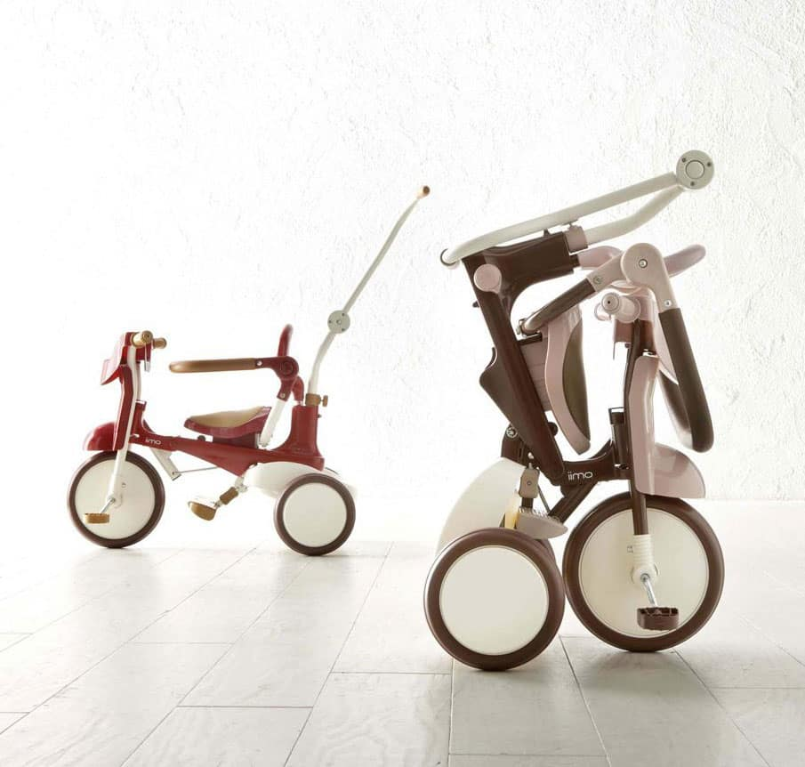 Iimo Tricycle 02 Eternity Red Stylish Way to Travel with Toddlers