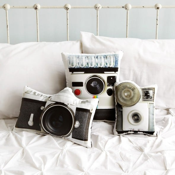 In the seem Vintage Camera Pillows Buy Cute Photographer Stuff